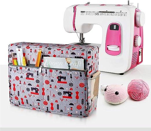 Coil.c - Funda protectora contra el polvo para máquinas de coser y accesorios (apto para Brother y Singer): Amazon.es: Hogar
