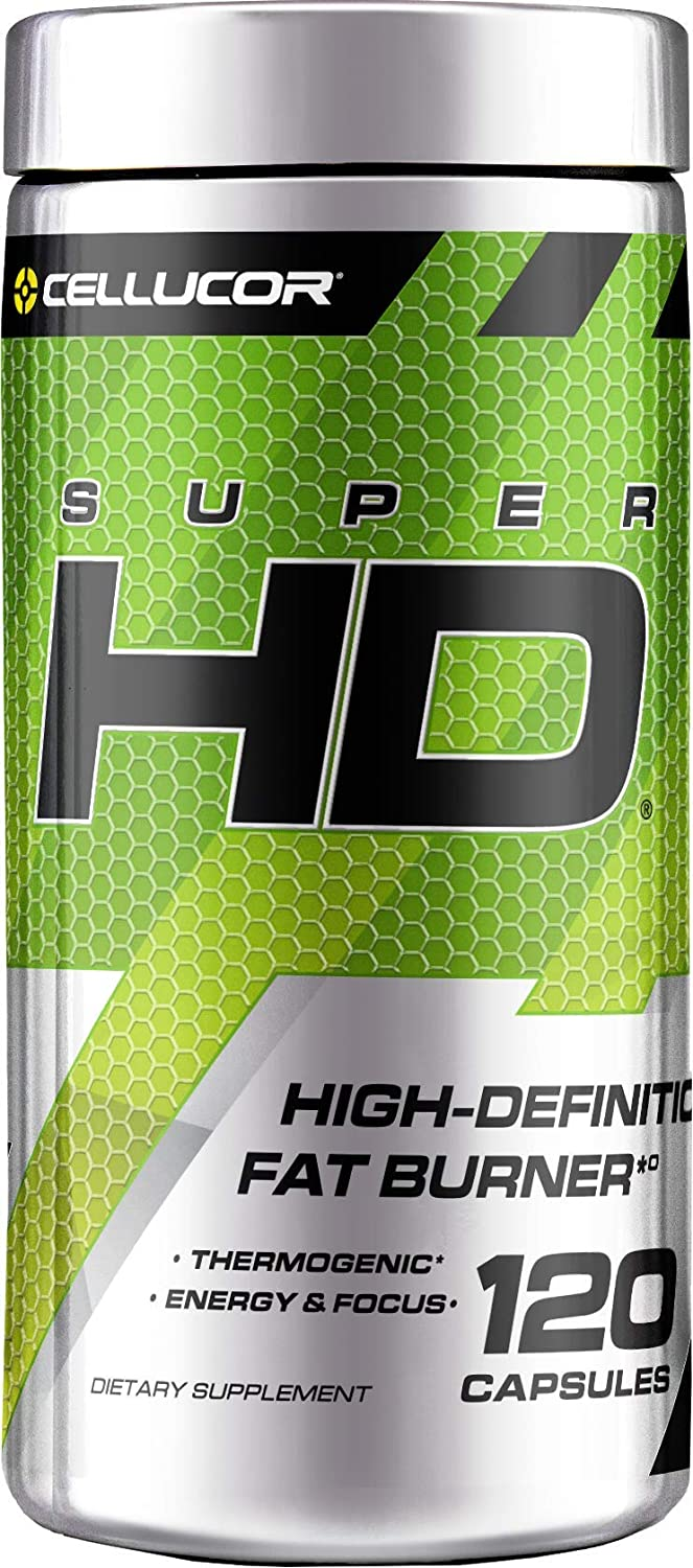 Superhd Weight Loss Capsules Supplement for Men Women with Nootropic Focus Plus 160mg Caffeine 120 Capsules
