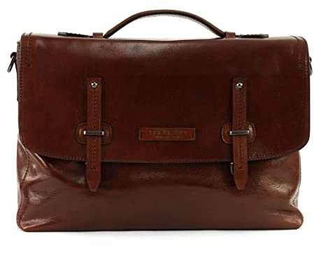 bc96fd10e9 CARTELLA THE BRIDGE KALLIO BRIEFCASE 06320701 1A MARRONE: Amazon.it ...