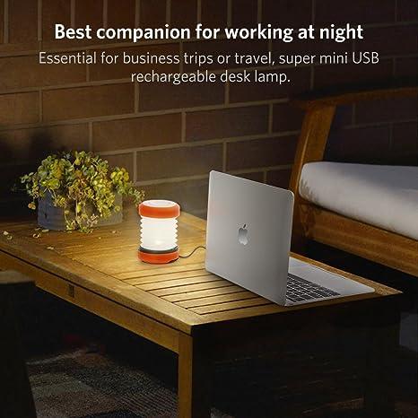 ThorFire Luces de Camping, Plegable LED Camping manivela de Mano USB Recargable Tienda de campaña lámpara Linterna portátil Interior & Exterior Linterna luz ...