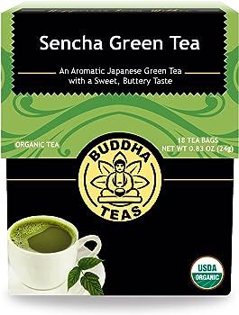 Buddha Teas Organic Sencha Green Tea