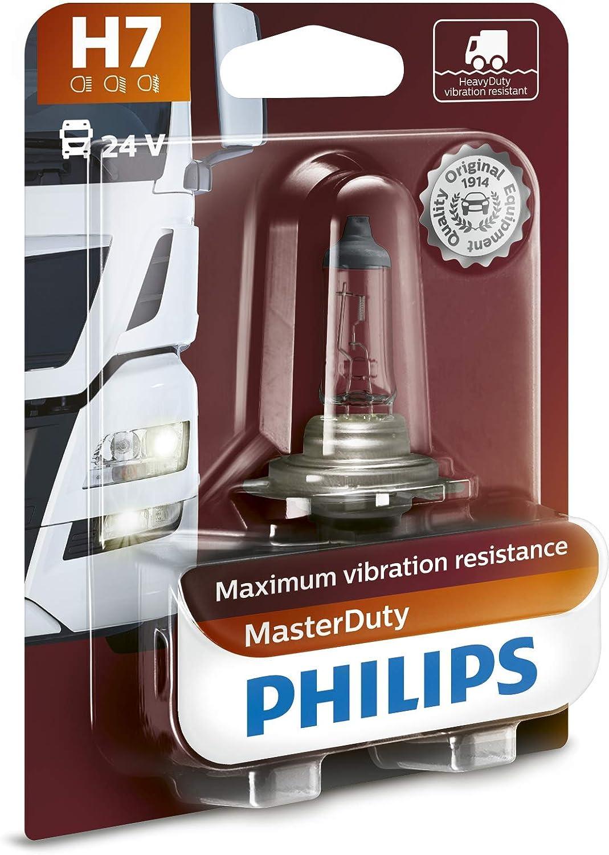 Philips 13972MDB1 MasterDuty - Bombilla H7 para faros delanteros (1 unidad, 24 V)