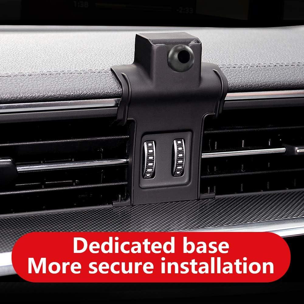 LUNQIN Audi A6 A7 2019-2020 Car Phone Holder Auto Accessories Navigation Bracket Interior Decoration Mobile Cell Phone Mount