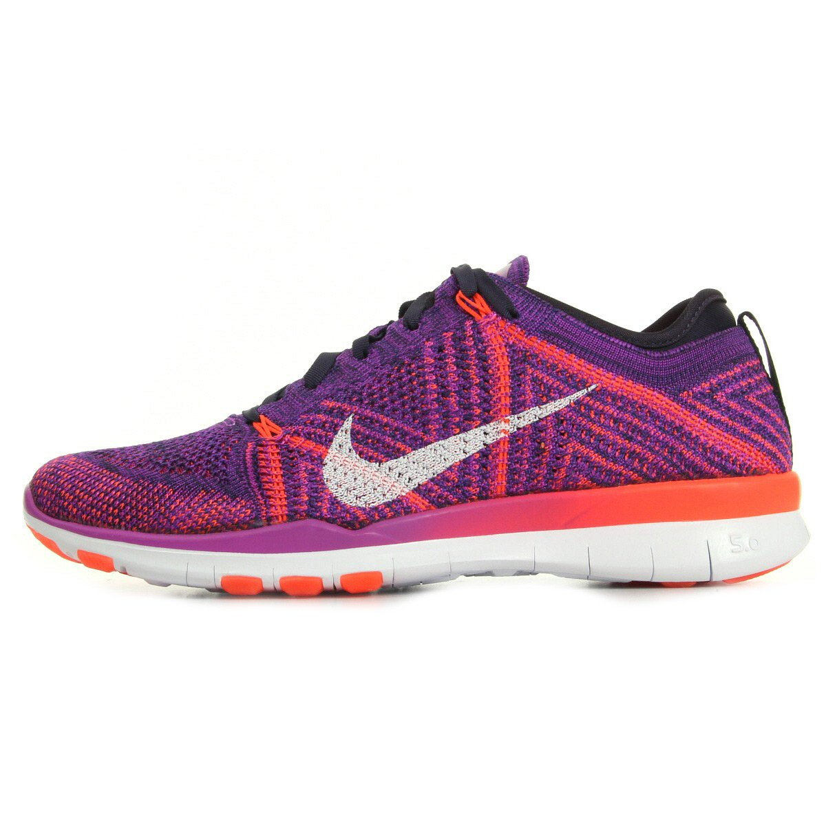 cheap for discount 0f019 eaf5b Nike Womens Free TR Flyknit Running Shoes (7. 5 B(M) US, Hyper  Volt White-Total Crimson-Purple)  Amazon.in  Shoes   Handbags