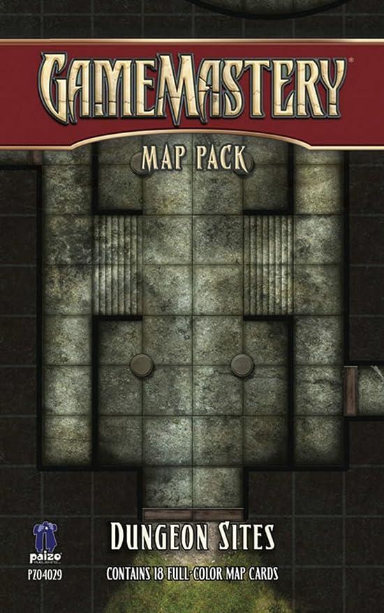 GameMastery Map Pack: Dungeon Sites: Macourek, Corey, Staff, Paizo: Amazon.es: Juguetes y juegos