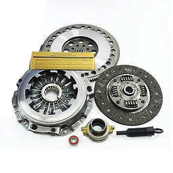exedy Kit de embrague + cromo-molibdeno volante para 02 - 05 Subaru Impreza WRX L Turbo EJ205: Amazon.es: Coche y moto