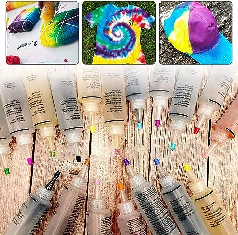 Ritapreaty Kit de Tinte de 18 Colores, Mancha de Agua fría ...