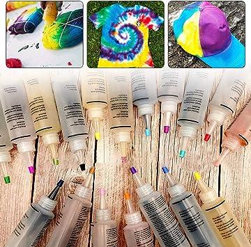 Blentude Kit de tinte de 18 colores de agua fría tinte de ...