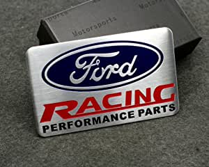 4pcs Sets AM78 ST Racing Front Grille Back Sticker Car Emblem Badge For Ford Focus 2 Focus 3 FIESTA F-150 Kuga FUSION ESCAPE EDGE Fender Side Sticker