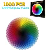 LRRH 1000 PCS Rainbow Palette Jigsaw Puzzle Intellectual Game for Adults and Kids