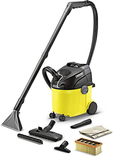 Kärcher SE 5.100 - Aspirador, 220-240 V, 1400 W, 290 x 370 x 470 mm, 7000 g, color negro y amarillo: Amazon.es: Hogar