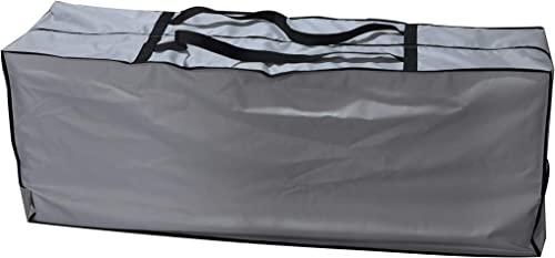 acoveritt Outdoor Rectangular Cushion Cover Storage Bag, Protective Zippered Storage Bags with Handles, 60 X20 X28