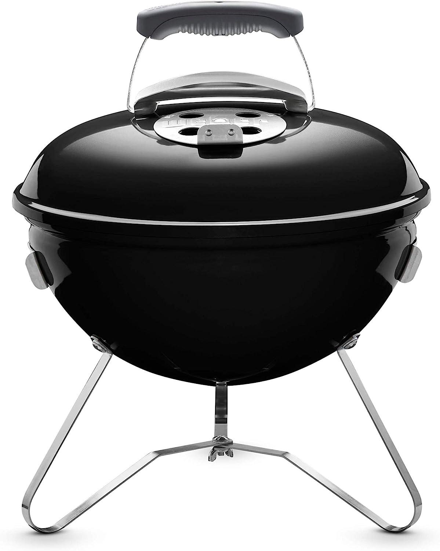Weber 1111004 Smokey Joe Original - Barbacoa (37 cm), color negro
