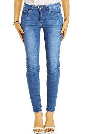 c6c8b819fdabb Bestyledberlin pantalon en jean femme, jean slim fit taille basse j51k 26