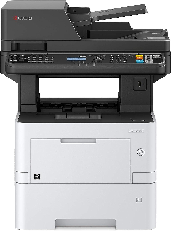3 Jahre Kyocera Life vor Ort Service 40 Seiten pro Minute mit Mobile-Print-Funktion Duplex-Einheit schwarz-wei/ß Kyocera Klimaschutz-System Ecosys M2540dn//KL3 4-in-1 Multifunktionsdrucker