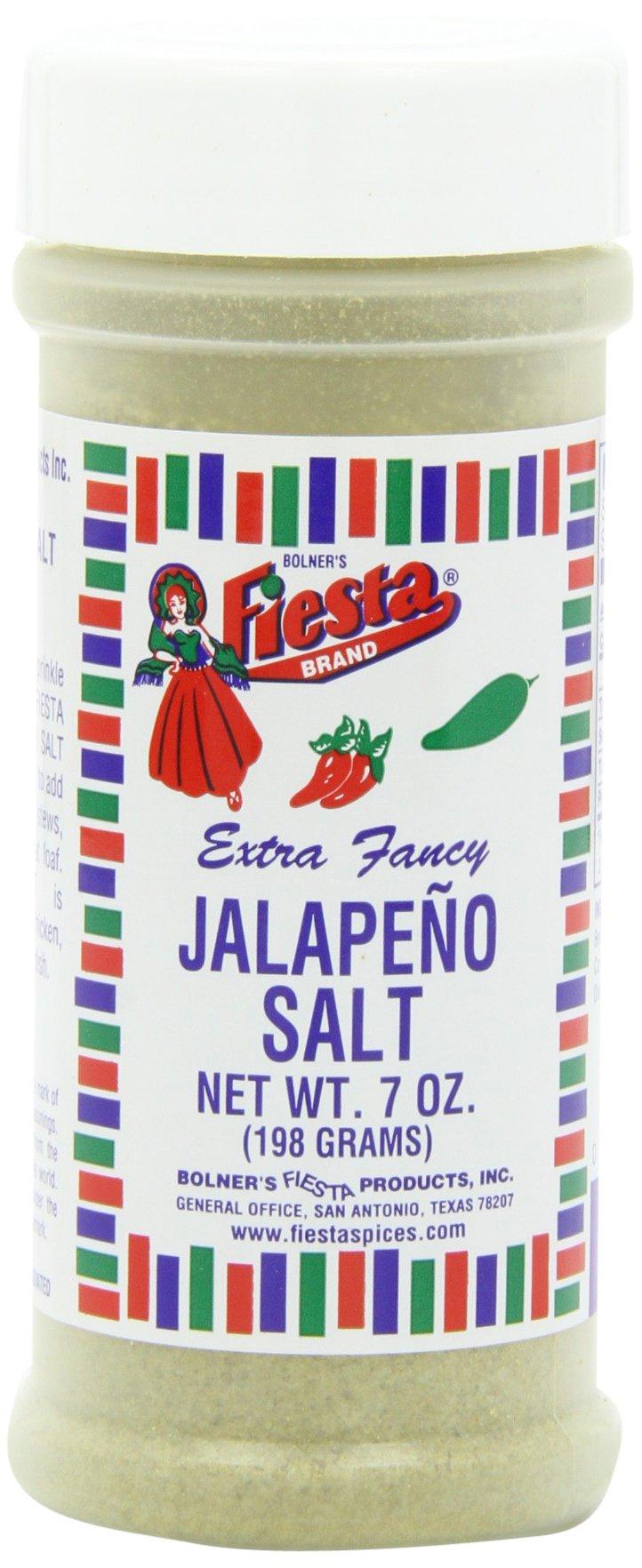 Fiesta Salt Jalapeno, 7-Ounce (Pack of 6)