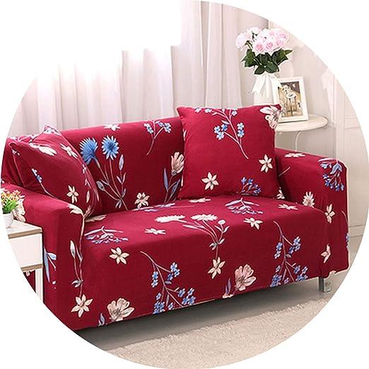 Fundas elásticas universales para sofá con diseño de Esquina ...