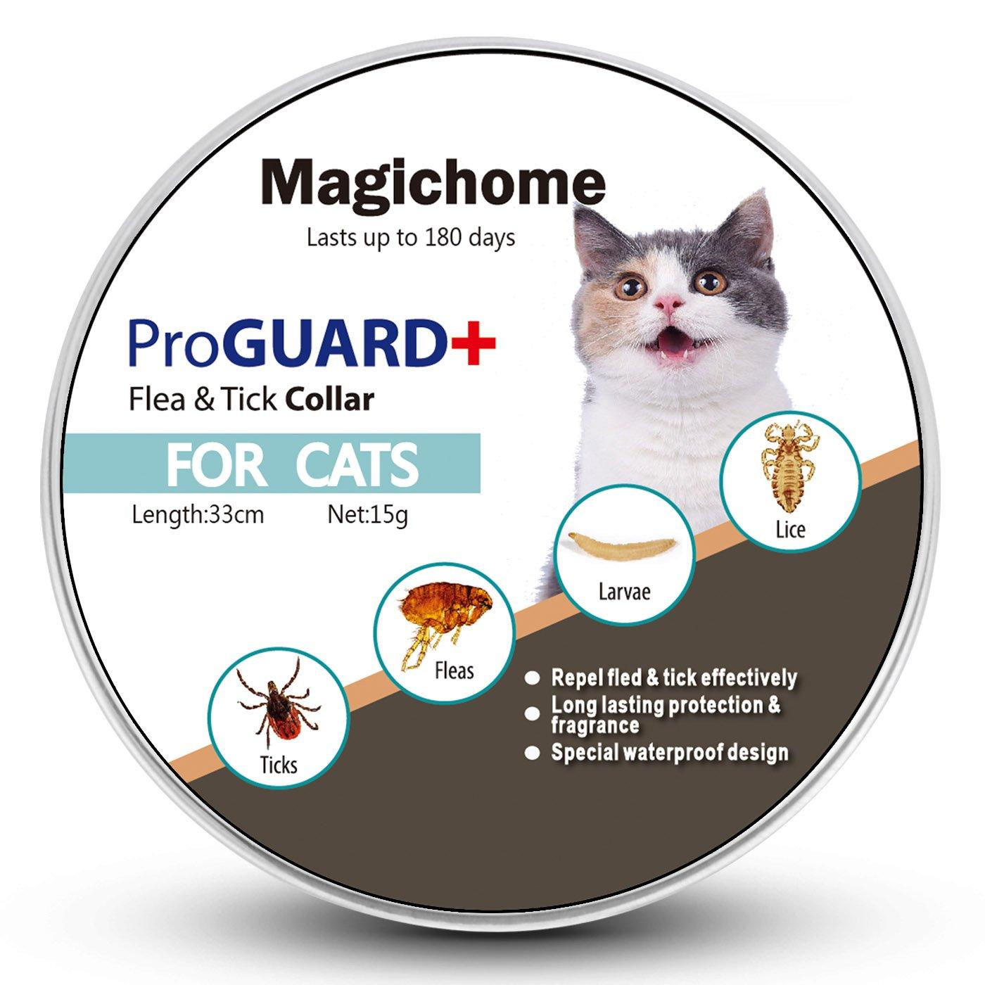 MagicHome Collar Antiparasitario para Gatos contra Pulgas ...