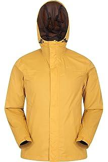 Mountain Warehouse Chaqueta Softshell Exodus para Hombre - Chaqueta Casual de diseño práctico, Impermeable, Dobladillo, Capucha y puños Ajustables: Amazon.es: Ropa y accesorios