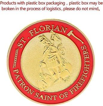 cicianco St. Florian - Moneda de Bomberos (bañada en Oro ...