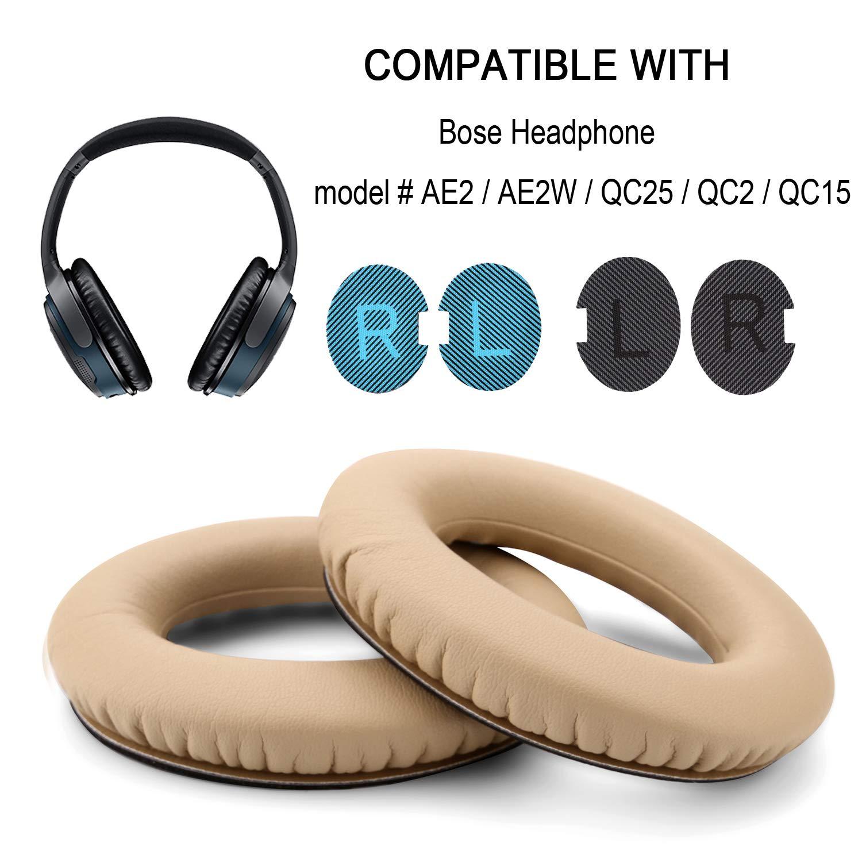 Almohadillas auriculares Bose Quietcomfort QC15,QC25,AE2,AE2