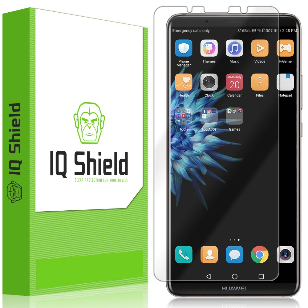 Huawei Mate 10 Pro Screen Protector, Iq Shield Li Quid Skin Full Coverage Screen Protector For Huawei Mate 10 Pro Hd Clear Anti Bubble Film by Iq Shield