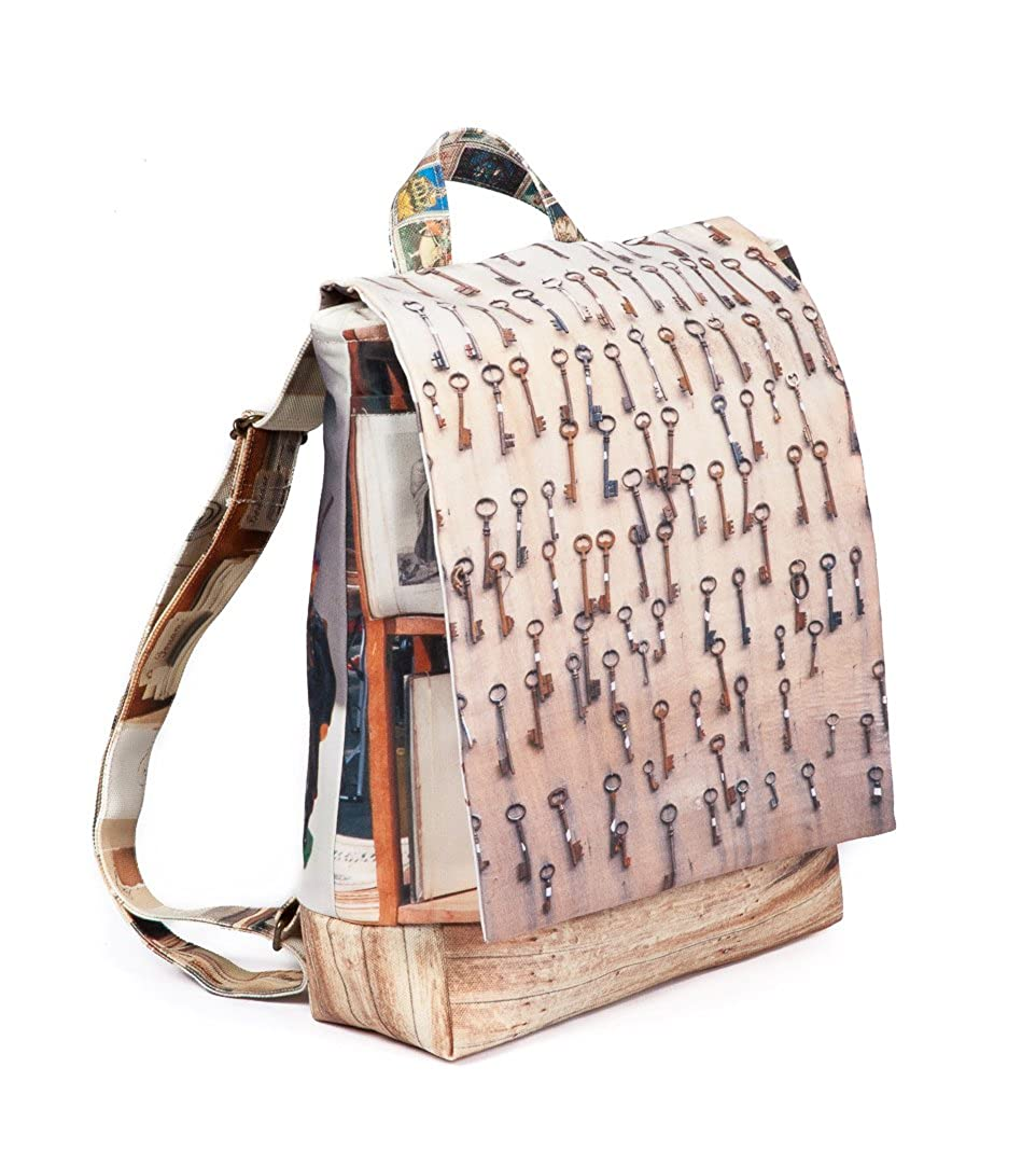 Maron Bouillie(マロンブイー)蚤の市コレクション バックパック(鍵) B07D8QNBSM