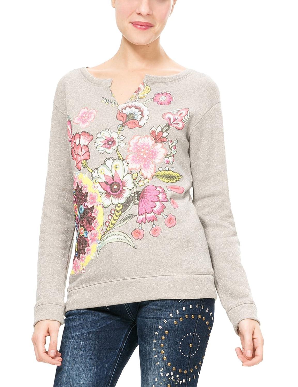 Desigual Damen Sweatshirt Sweat_Menorca