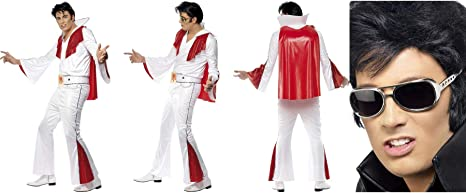 Fancy Dress World Elvis Presley 29151 29157 - Disfraz de Elvis ...