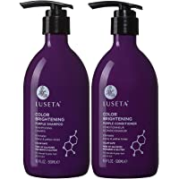 2-Pack Luceta Color Brightening Purple Shampoo and Conditioner Set