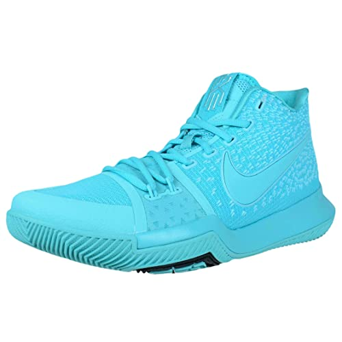 f6dc87058672 Nike Kyrie 3 Mens Fashion-Sneakers 852395-401 9. 5 - Aqua Aqua-Black  Buy  Online at Low Prices in India - Amazon.in