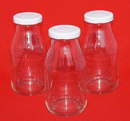 50 Botellas de cristal vacías botellas de zumo de 200 ml botellas de licor botellas de