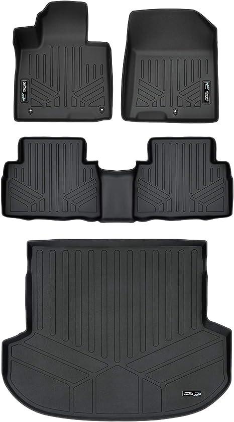 Amazon Com Smartliner Custom Fit Floor Mats 2 Rows And Cargo