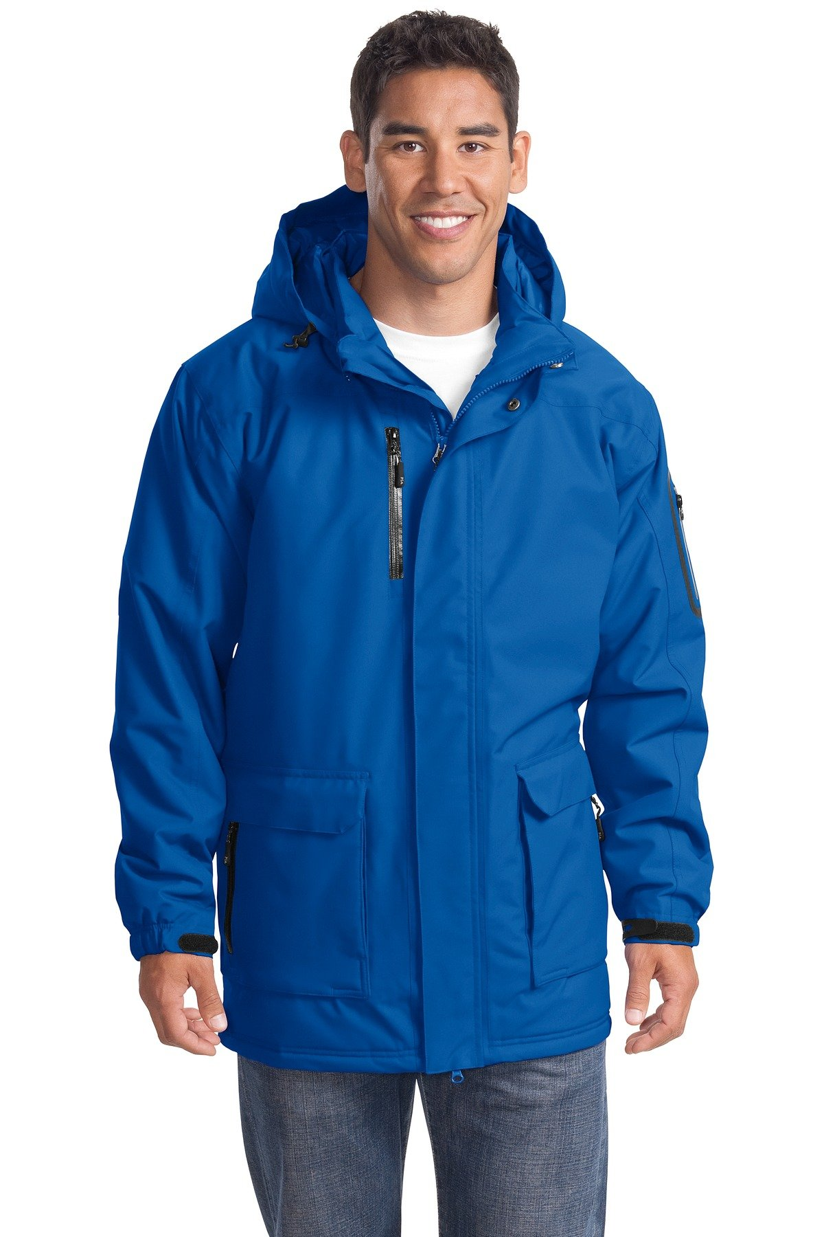 Port Authority Men's Heavyweight Parka 4XL Royal