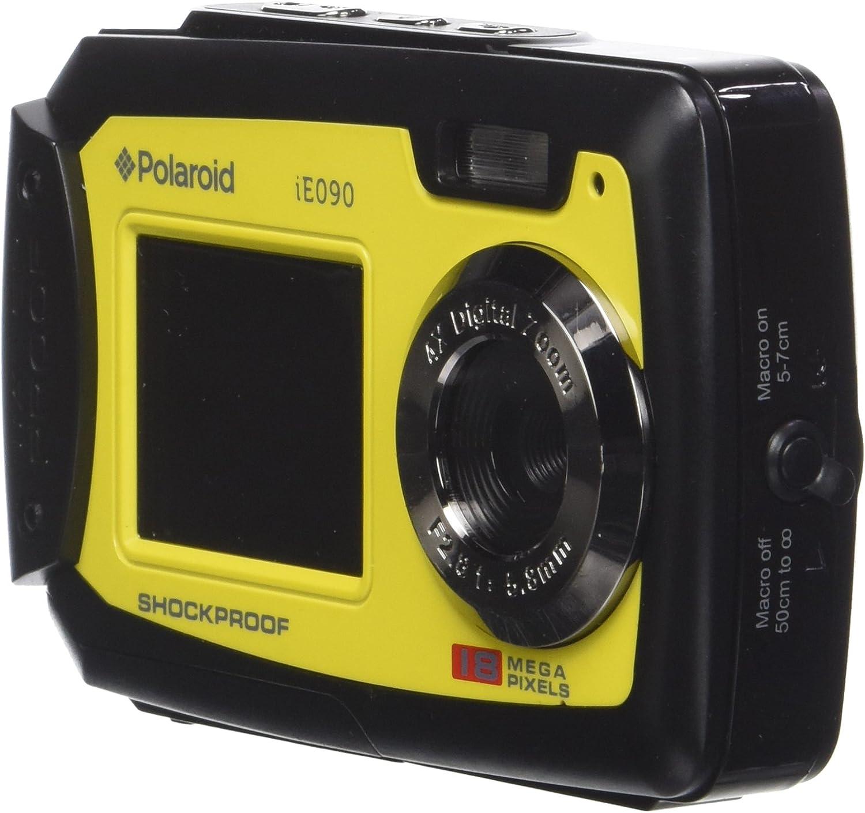 Polaroid Digitalkamera Ie090 Yel 18mp Schwarz Gelb Kamera