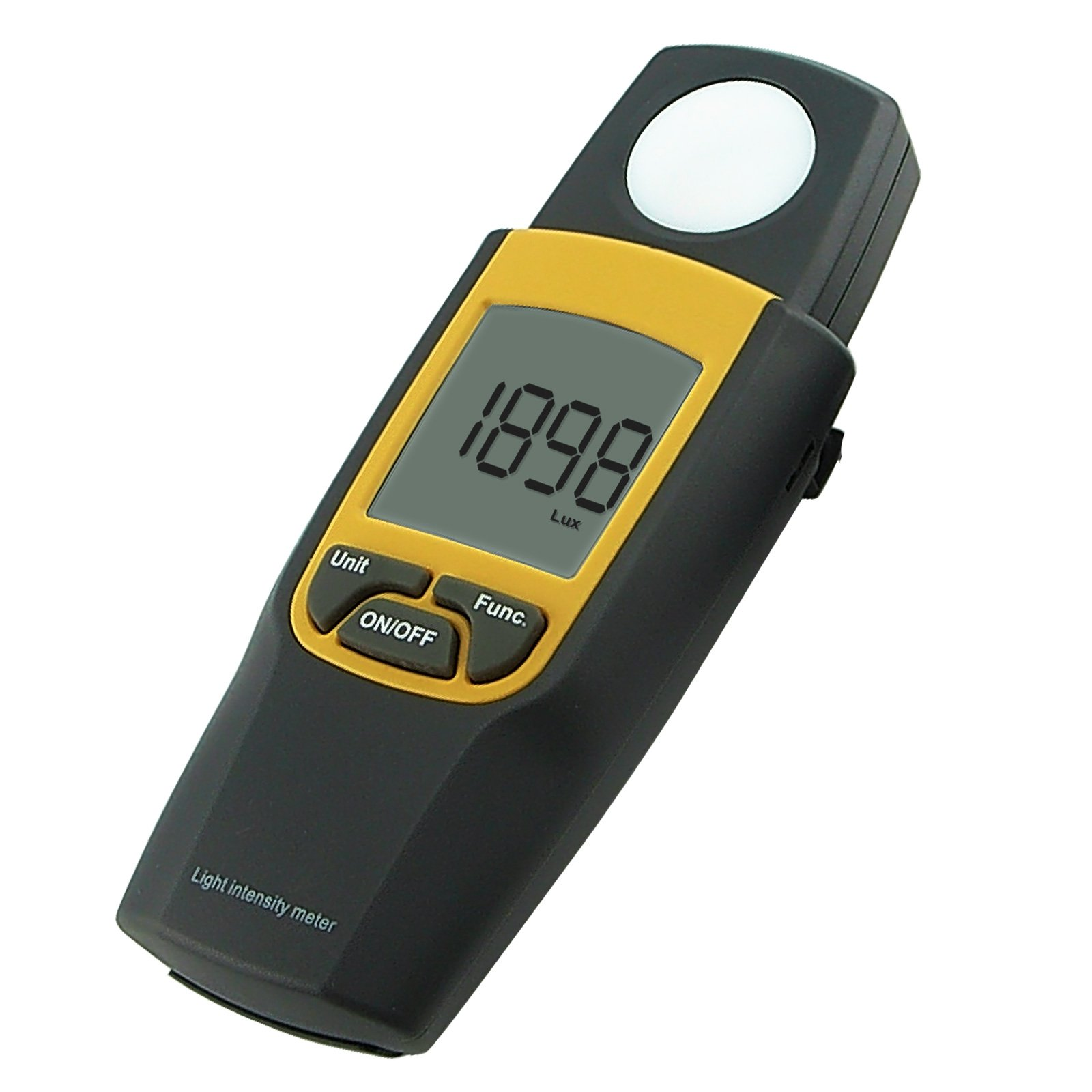 Digital Lux/Light Level Meter 0~30000 Lux Luminometer Illuminance Meter, FTC with Max Min Hold 2 Parameters Measurement Large Display by Gain Express