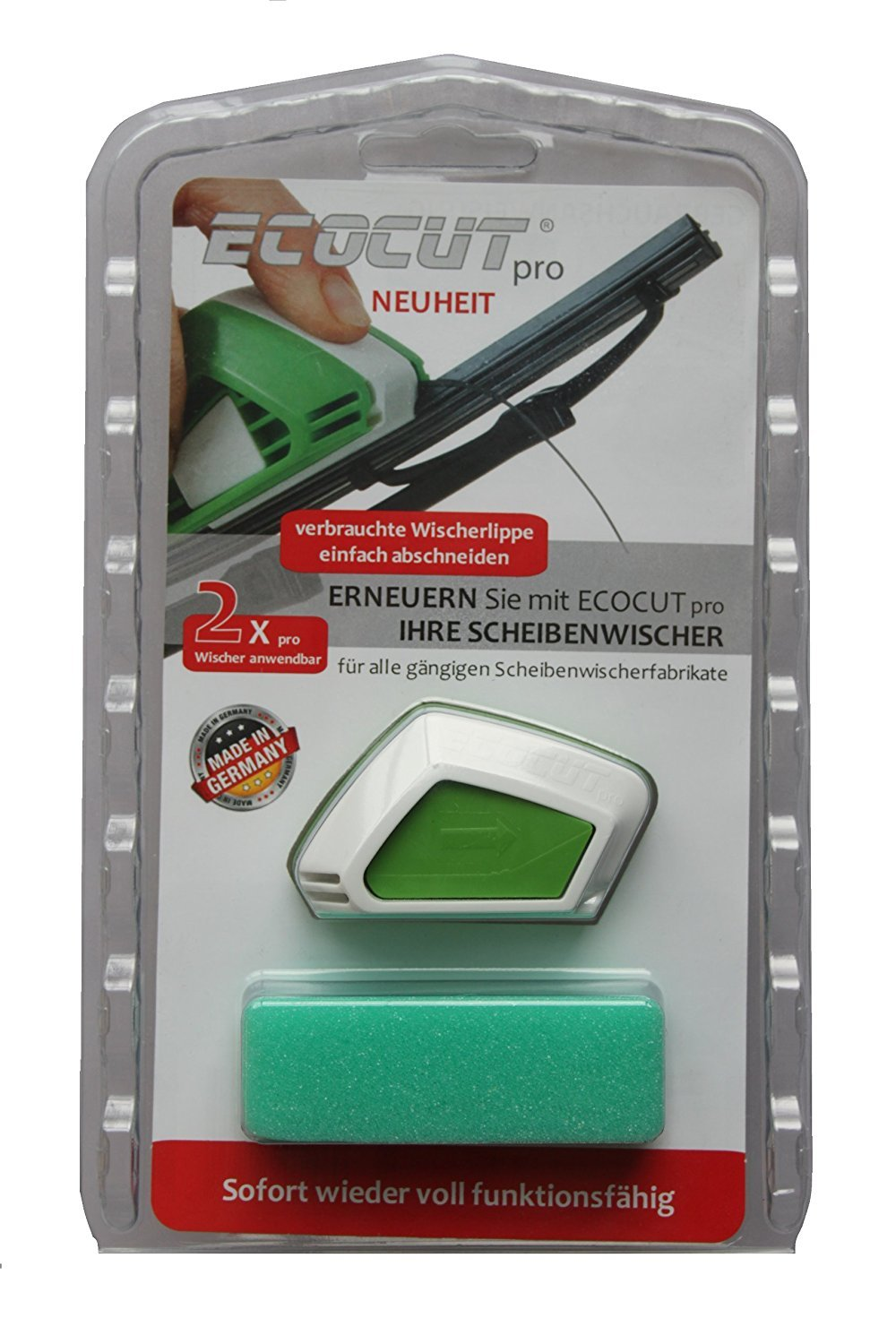 Windshield Wiper Regroover I Auto Windshield Wiper Cutter I Windscreen Wiper Blades Cutter Restorer New, Cars tools, Glass - Wiper Blades Repair Quickly and Easily I DIY Smart Repair by LuxuryTeech (Image #6)