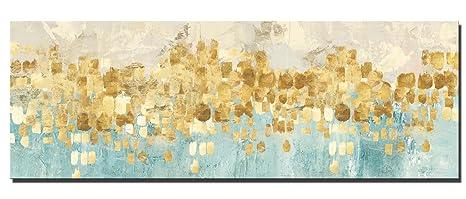 Fajerminart Leinwand Drucke Moderne Bild Wandkunst Goldene