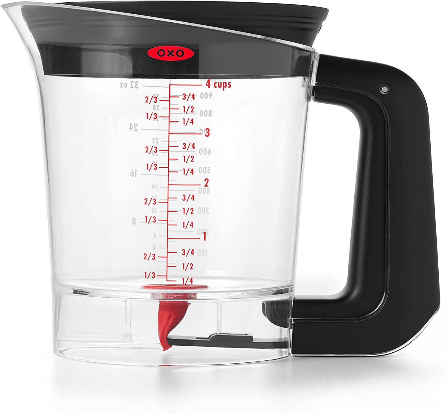 OXO Good Grips Good Gravy 4-Cup Fat Separator: Home & Kitchen
