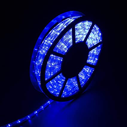 Diophros 50ft Rope Light Led Strip Lights For Indoor Outdoor Rope Lighting Waterproof Decorative Lighting Backyards Garden And Party Decoration