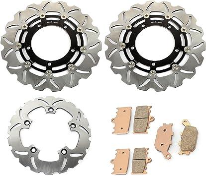 Tarazon Wave Bremsscheiben Vorne Hinten Beläge Set Für Suzuki Gsf 650 Bandit 2007 2014 Gsf 1250 Gsf 1250 S Bandit 2007 2015 Auto