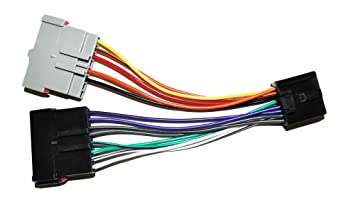 71v%2BZ8iKNrL._SX355_ amazon com radio adapter wire wiring harness old to new style wiring harness adapter at gsmx.co