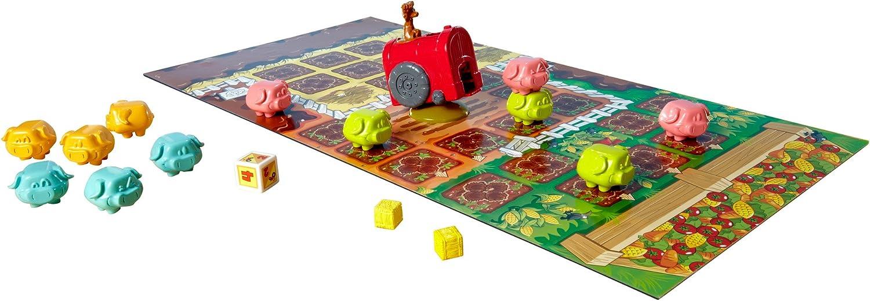 Juegos Mattel - Juego de Mesa, Cerditos a la Carrera (Y2552): Amazon.es: Juguetes y juegos