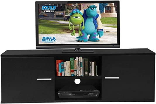 Tv Stands For Flat Screens 55 Inch Wood Storage Media Console Table Furinno
