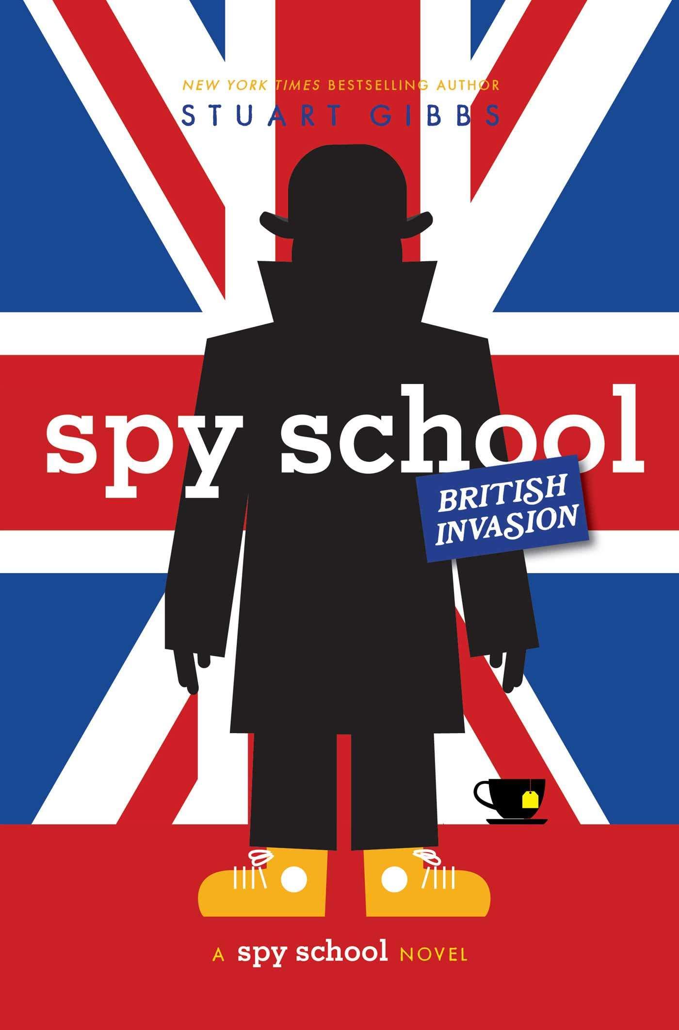 School British Invasion Stuart Gibbs product image