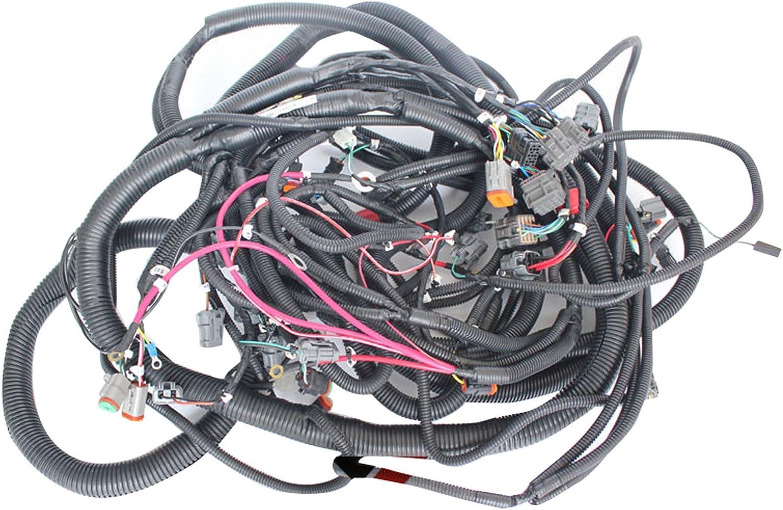 Amazon.com: 207-06-61242 Wiring Harness - SINOCMP Excavator Wiring Harness  for Komatsu PC350-6 Excavator Aftermarket Parts, 3 Month Warranty:  Automotive