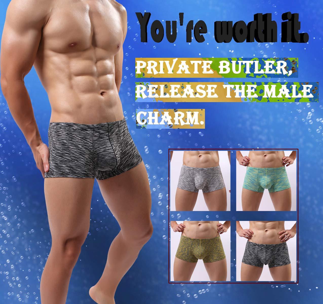 MAKEIIT Young Underwear X-Temp Boxers Guys Underwear Fitted Cool Boxer Briefs Men by MAKEIIT (Image #5)