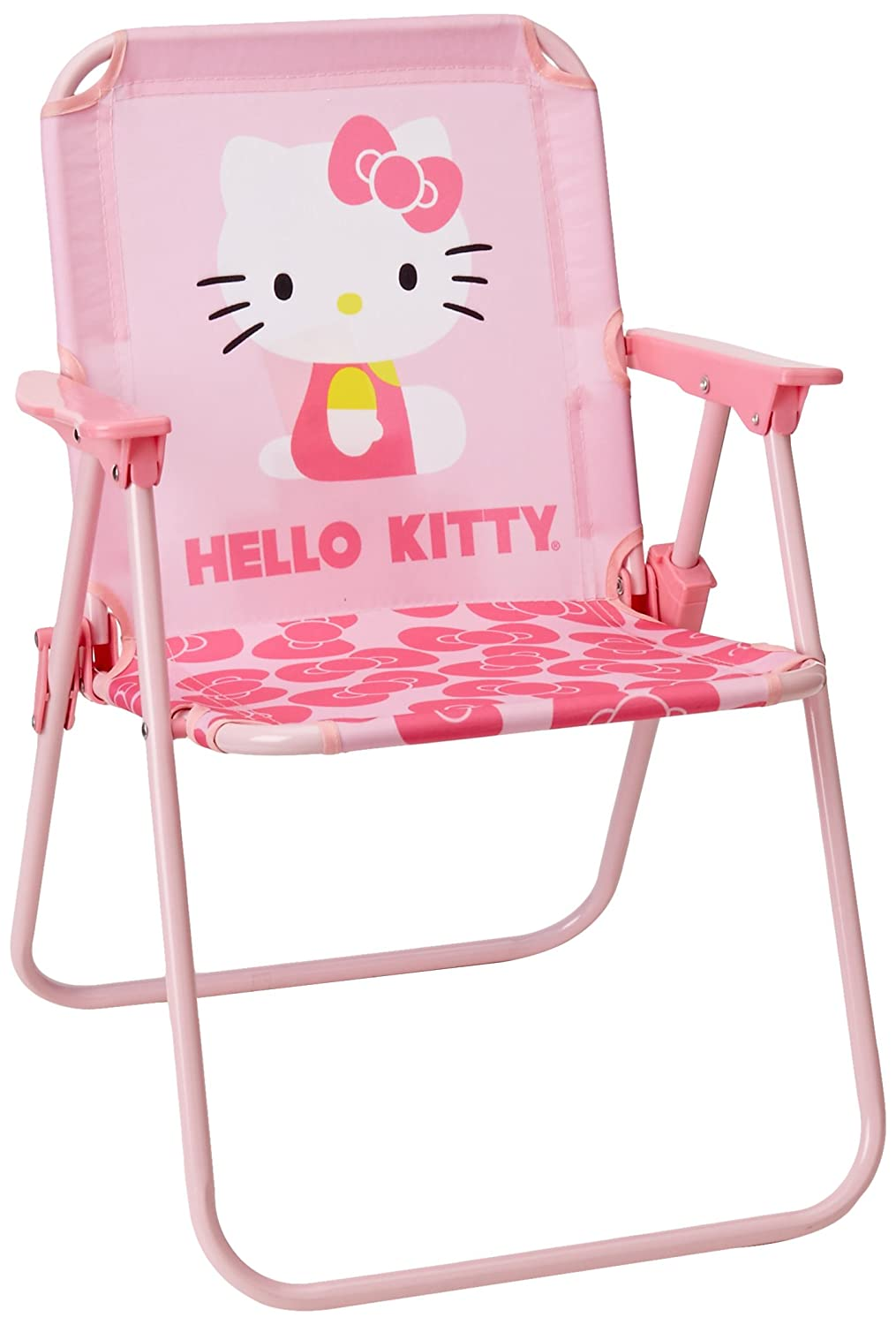 Hello kitty chair - Amazon Com Hello Kitty Youth Flat Chair Childrens Folding Chairs Sports Outdoors