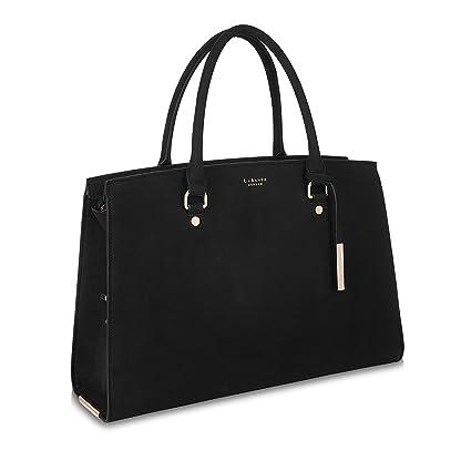 3bc87dc319 LaBante - Tote Bag Women - Aricia- Black Handbag Work Bag Laptop Bags for  Women