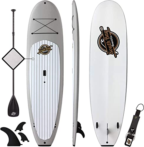 Premium Stand Up Paddle Board – 10 4 Anima SUP – Durable Soft Top Paddleboard